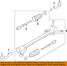 MAZDA OEM 11-14 2-Rack And Pinion Complete Unit DF9532110B