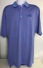 Donald Ross Mens Medium Sz XL Golf Striped Polo Short Sleeve Shirt
