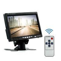 7Inch TFT LCD Color HD Mirror Monitor Car Reverse Rear View Backup Camera RTUK