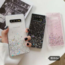 For Samsung Galaxy S20 Ultra S10 Plus Note10 Bling Glitter Clear Soft Case Cover