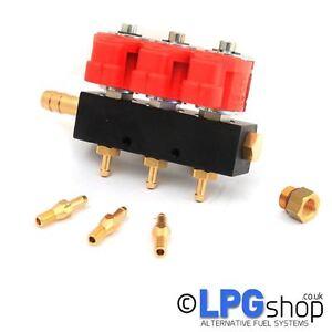 LPG Autogas VALTEK 3CYL Rail Type-30 Injectors
