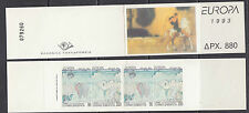 Europa Cept 1993 Greece booklet ** mnh (A539)