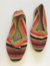 Canvas Wide (C, D, W) Casual Flats for Women