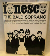 VINTAGE The Bald Soprano: Anti-Play, followed by an Unpublished Scene 1965 RARE!