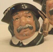 "Royal Doulton Sancho Panca D6461 Small size Character Jug w ""Servant"" & Cedilla"