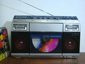 Sharp VZ 2000 H Boombox Ghettoblaster Plattenspieler Vintage 80 er.