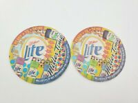 Miller Lite Ready To Drink 1999 Miller Time Beer Coasters Lot of 2