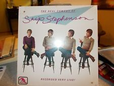 SKIP STEPHENSON, THE REAL COMEDY LP-Recorded Live-SEALED!