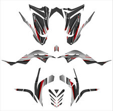 Raptor 700 graphics kit for 2006 - 2012 Thick 24 mil racing vinyl #5600 Red