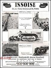 Publicité Agriculture Tracteur ISSOISE  1941 -9I
