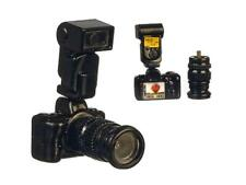 Dolls House Long Lens Camera with Flash Miniature 1:12 Accessory