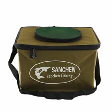 Fishing Water Bag Fish Bait Bucket Portable Box Pail Tackle Keep Fish Alive
