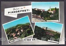 GENOVA TRIBOGNA 02 Fraz. PIANDEIPRETI - SALUTI da.. Cartolina FOTOG. viagg. 1968