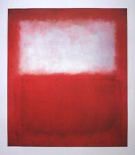 Mark Rothko White over Red