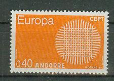 Andorra  Briefmarken 1970 Europa Mi.Nr.222 ** postfrisch