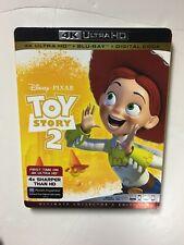 Disney Pixar Toy Story 2 (4k Uhd Blu-ray/Blu-ray, Digital Hd) New w/slipcover