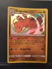 Pokemon card Dragonite Rare holo Team up  119/181 pack fresh mint