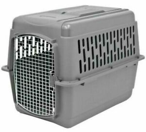 X Large Dog Crate Carrier Kennel Durable Ventilated Plastic Transport Portable