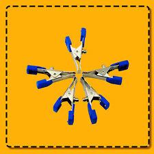 Veterinary EKG/ECG Alligator Electrode Clip Universal Connection Snap 5pcs/Bag