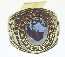 Private Pilot Ring   - Blue Stone