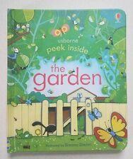 Peek Inside the Garden (Usborne)