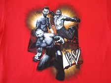 Randy Orton CM Punk Rey Mysterio Basics Authentic WWE Shirt Medium ADULT