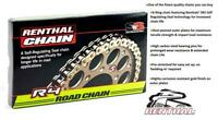 Renthal R4 Extreme Heavy Duty Gold X-Ring Chain 525 x 110 Links