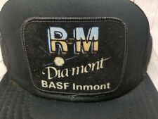 VTG R-M DIAMONT BASF INMONT REFINISH PAINT TRUCKERS HAT CAP MESH SNAPBACK RARE