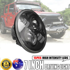 7inch 100W CREE Round LED Driving Light High-Low Beam Offroad 4x4WD For Wrangler