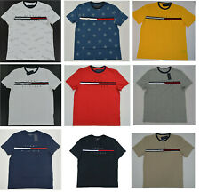 Men's Tommy Hilfiger Short-Sleeve Tino Tee (T)  Shirt ColorBlock Flag