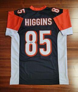 Tee Higgins Autographed Signed Jersey Cincinnati Bengals JSA