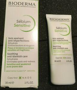 Bioderma Sebium Sensitive 30ml Anti-Blemish Acne-Prone Sensitive Skin Exp 05/22