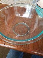 Pyrex #325 Clear Glass 2.5 Quart Mixing Bowl