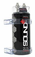 SoundBox Scap2D condensador digital de 2.5 faradios para audio de automóvil -.