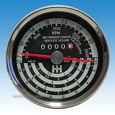 Traktormeter 7 bis 32 km/h kompatibel mit IHC rechts drehend Traktor 523