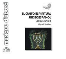 El Canto Espiritual Judeoespanol / Miguel Sànchez, Alia Musica - CD