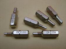 Set 6 Sicherheit Innensechskant (Innensechskantschlüssel) Schraubendrehereinsatz