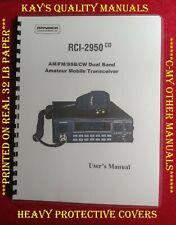 Ranger RCI-2950CD Manual User's Manual 😊C-MY OTHER MANUALS😊
