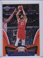 Anthony Davis 2018-19 Certified Mirror Orange #d/99 Pelicans