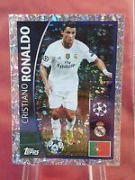 Cristiano Ronaldo Real Madrid Champions League 2015/16 Topps Foil Sticker