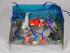 Disney Finding Dory 9pc Ornaments Figure Set Nemo Gerald Destiny Baliey Hank NEW