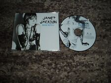 """Janet jackson rare cd maxi single promo picture  disc """"rock with you"""""""