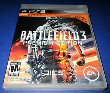 Battlefield 3 -- Premium Edition Sony PlayStation 3 *Factory Sealed! *Free Ship!