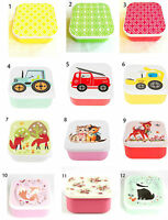 Childrens Kids Plastic Lunch Box Picnic Snack Box School Lunchboxes