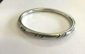 "TAXCO Mexico Sterling Silver 925 Cuff Bracelet 8"" Bangle Bracelet 16 Grams"
