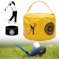 Golf Impact Power Smash Bag Swing Practice Training Aid Hit Strike Trainer UK