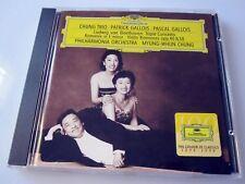 Chung trio Gallois - Beethoven Concerto romance violon - CD musique classique