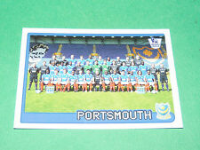 N°469 PORTSMOUTH ENGLAND MERLIN PREMIER LEAGUE FOOTBALL 2007-2008 PANINI