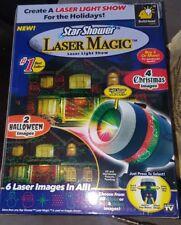 Star Shower Slide Show Motion Laser Light Magic Star Projector NIB