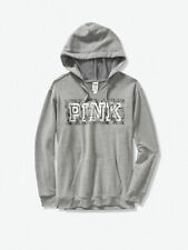 Victoria's Secret Pink Everyday Lounge Notch Neck Campus Pullover